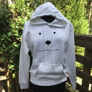 Unisex sweatshirt hoodie by G.G.S size S Canadian